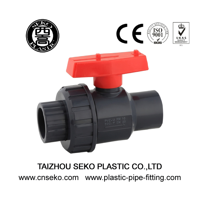 UPVC Single Union Ball Valve