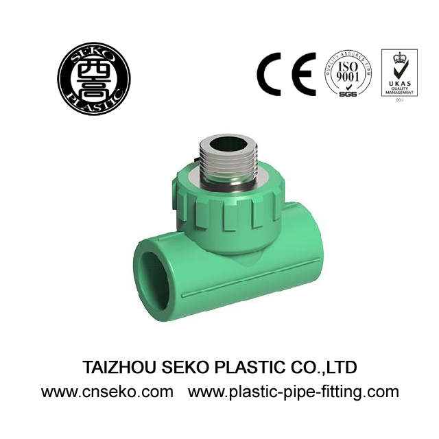 PPR Fittings-Male Tee(brass thread)