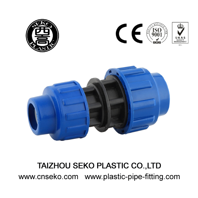 Reducing coupling/reducer 20mm-110mm pp hdpe PN16 fittings