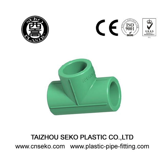 20mm-60mm PPR Equal Tee Plastic Pipe Fitting