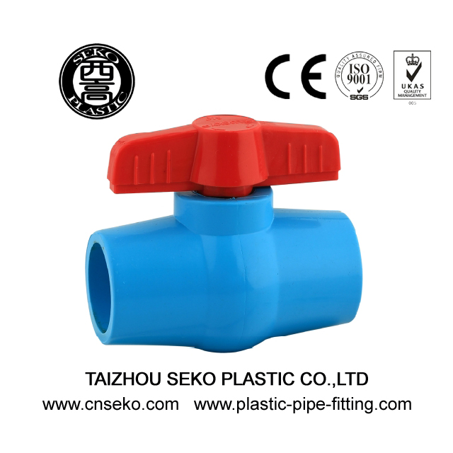 Compact Ball Valve Con-shaped