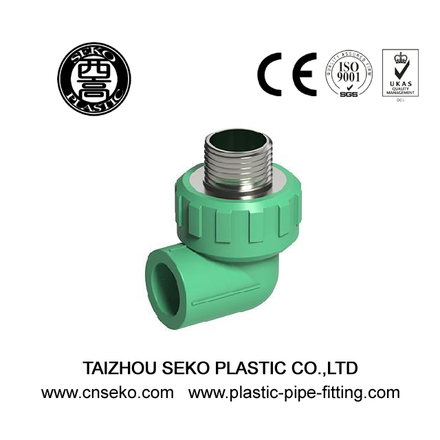 PPR Hydraulic Male Brass Threaded Elbow Fittings