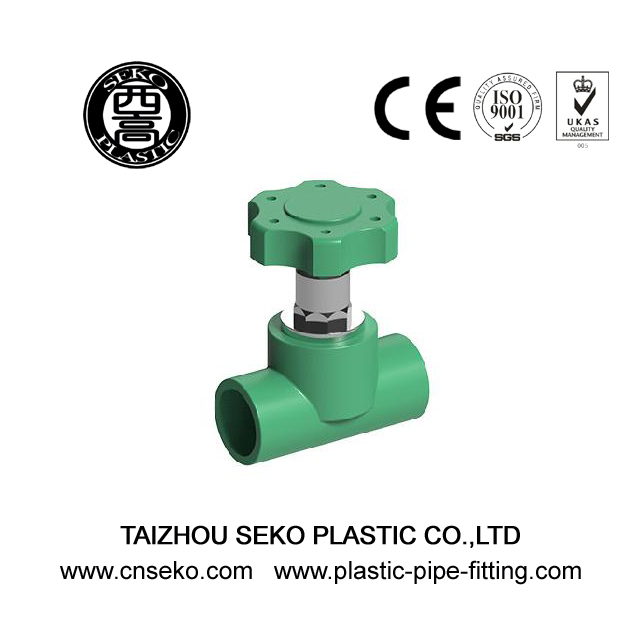 Wholesale 20mm-90mm stopcock PPR concealed stop valve fittings