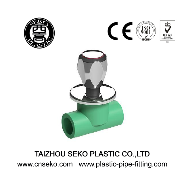 Wholesale 2.5Mpa greenquick open ISO Standard PPR heavy stop valve fittings