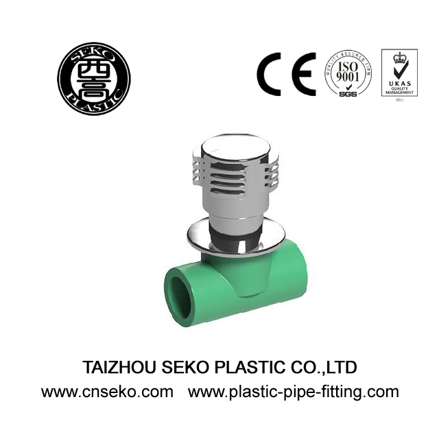 20mm-32mm green PPR heavy stop valve for water supply