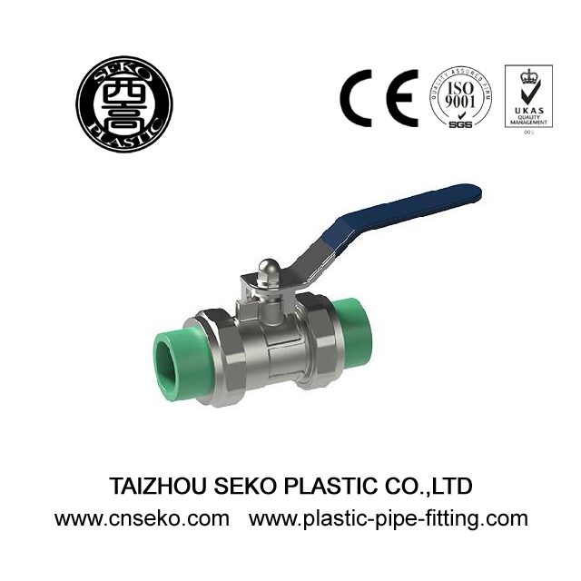 20mm-63mm PPR Brass Ball Valve for water pipe fittings