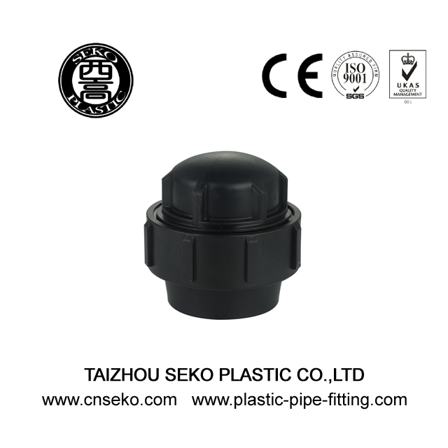 PP Compression Fittings-4-End Cap