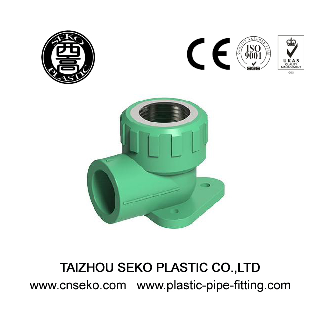 ISO Standard PPR One Side Female Threaded Elbow Pipe Fittings