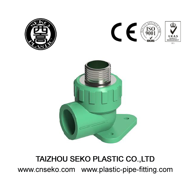 PPR Male Threaded Elbow with Pedestal Pipe Fittings